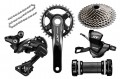 Shimano XT M8000 1 x 11 Transmission Groupset - Bar Mount 32T 11/42